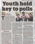 Navin Chawla - Youth hold key to polls 16 March 2014